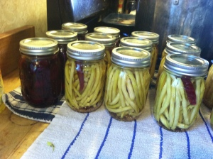 Zydeco Beans and Pickled Beets